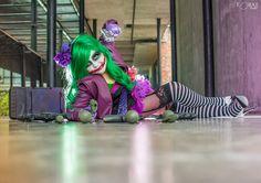 Female Joker Cosplay #joker #serious #cosplay