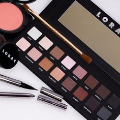 BACK TO BASICS! We worship our OG LORAC LEGENDS just as much as you do! Our original LORAC PRO Palette contains 8 statement matte shades and 8 stunning glitter shades that all maintain pigment potency while being easily blendable. Compliment a classic LORAC smokey eye with Front of the Line PRO Eyeliner, Color Source Buildable Blush in TECHNICOLOR and you are ready to take on the day! Are you a liquid liner or eye pencil kind of glam guru?? Lorac Pro Palette, Eyeshadow Palette, Makeup Haul, Liquid Liner, Smokey Eye, Eyeliner, Lipstick, Cosmetics, Worship