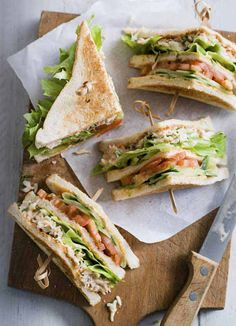 Spicy crab club sandwich: Sriracha, a spicy, garlicky Thai chilli sauce, is popping up all over menus on anything from breakfast dishes to burgers. This punchy blend of rich mayo and sriracha from Brooklyn's Empire Mayonnaise Co, available from M&S, is great for simple dipping and also transforms a crab club sandwich into the stuff of dreams.