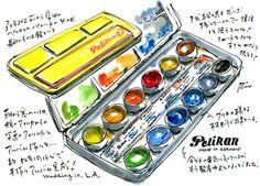 In Japan kennt man auch Pelikan. ;-)