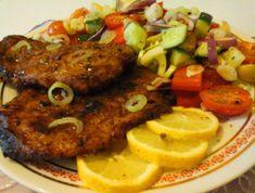 Csak lazán, amolyan görögösen: Joghurtos sült tarja/görög salátával… – Mediterrán ételek és egyéb finomságok… Tandoori Chicken, Steak, Pork, Ethnic Recipes, Kale Stir Fry, Steaks, Pork Chops