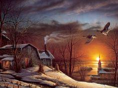 images of terry redlin paintings | Terry Redlin Art ~ Desktop Wallpapers