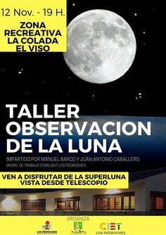 Taller de observación de la luna, en El Viso