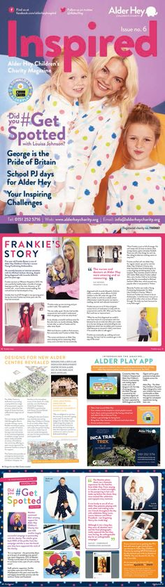 Graphic Design & Marketing Services Agency in Warrington, Cheshire. We produce media such as leaflets, brochures, corporate literature and advertisement. Charity, Literature, Banner, Challenges, Branding, Magazine, Graphic Design, Marketing, Inspired