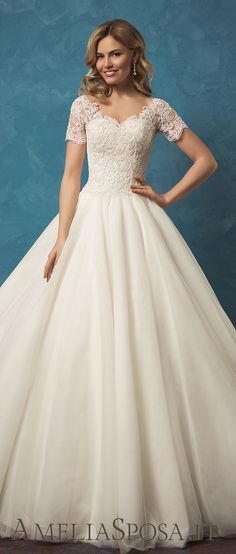 Amelia Sposa classic ball gown princess wedding dresses Alyssa