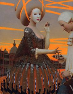 Andrey Remnev's Paintings Mix Antiquity with Modern Styles | Hi-Fructose Magazine