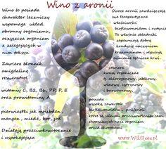 wino aronia właściwości