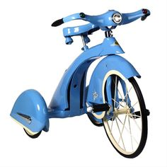Sky King Retro Tricycle in Blue