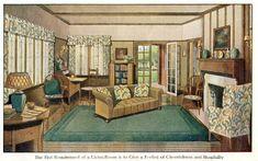 Living Room, 1912