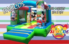 cubo mickey mouse 3m x 4m