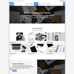 This smart and eye-catching Jomla theme comes with responsive layout that smoothly adapts to different screens (support tablets and all mobile devices), . Joomla Templates, Responsive Layout, Admin Panel, Screens, Colorful Backgrounds, Extensions, Typography, Things To Come