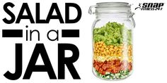 Featured Recipe: Salad In A Jar - Snap Fitness