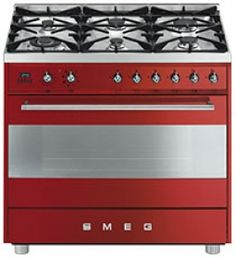 C9GMRSSA: Cooker Smeg designed in Italy, has functional characteristics of quality with a design that combines style and high technology. See it at www.smeg.co.za