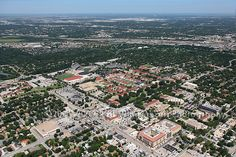 Aerial Image of Texas Christian University (TCU), Fort Worth, Texas - Dallas Fort Worth Aerial Photographer Image