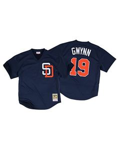 aebb76e10c3 Tony Gwynn 1996 Authentic Mesh BP Jersey San Diego Padres--medium Vintage  Jerseys