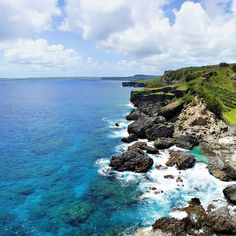 Forbidden island, Saipan - view from the island  Photo: Brady Barrineau