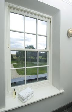 Mumford & Wood's Georgian-style box sash windows and doors have been incorporated in a beautiful Georgian new build residence in South Oxfordshire.