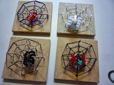 Herfst - Techniek - Spin in web - Idee van Tjonkerschool