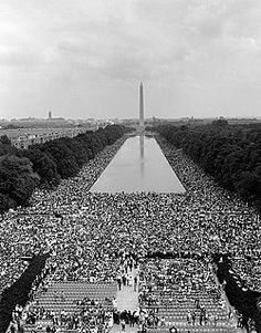 """Aug 28 - """"I have a dream..."""" ON THIS DAY in 1963, on the steps of the Lincoln Memorial in Washington, D.C., the African American civil rights movement reached its high-water mark when Martin Luther King, Jr. delivered his infamous """"I Have a Dream"""" speech to about 250,000 people attending the March on Washington!"""