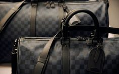Louis Vuitton - Keepall Bandouliere in Damier Cobalt (Nothing is quite as hardy as a Louis Vuitton bag. This one in Damier Cobalt is perhaps the least ostentatious option available, great for daily use.)