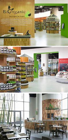 Biorganic organic food store by Retail Access, Duabi – UAE