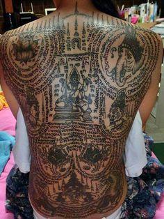 Occult Thai Tattoos – Zero Equals Two!