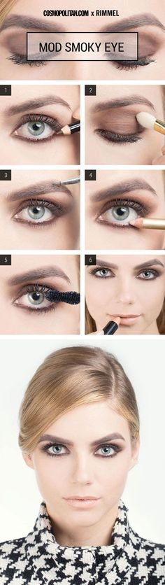 Mod smokey eyes
