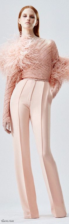 Elie Saab Resort 2016. Elegant Fall autumn women fashion outfit clothing stylish apparel @roressclothes closet ideas