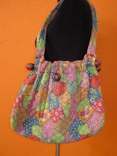 Vintage 1960's Boho Hippie Folk Pattern Cotton Festival Shoulder Bag Tote Purse Handbag on Etsy, $27.00
