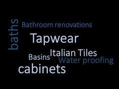 bathroom tapwear Brisbane I How to renovate a bathroom in Brisbane? Bathroom Renovations Brisbane, Italian Tiles, Amazing Bathrooms