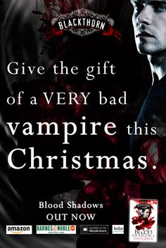 Give the gift of a very bad vampire this Christmas!  Blood Shadows by Lindsay J. Pryor...