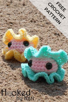 Crochet Fish Patterns, Crochet Patterns For Beginners, Crochet Patterns Amigurumi, Beginner Crochet, Kawaii Crochet, Cute Crochet, Kids Crochet, Crochet Gifts, Crochet Toys