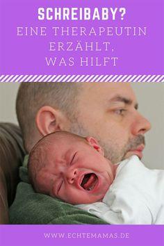 """Eltern, deren Baby ungewöhnlich viel weint, sind oftmals völlig am Ende. Totale Erschöpfung, Paarkrisen, Selbstzweifel, Wut aufs Baby – ein Schreibaby kann das Leben gehörig ins Wanken bringen. Marie Theunert ist die Rettung für Familien, in denen ein """"Baby mit mehr Bedürfnissen"""" lebt – so nennt sie selbst betroffene Kinder viel lieber. Denn das klingt so viel weniger negativ. Foto: ©️️Bigstock #schreibaby #baby"""