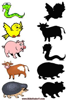 With these educational worksheets, children guess what an item is by looking at its shadow.  This printables are for the youngest kids - he...
