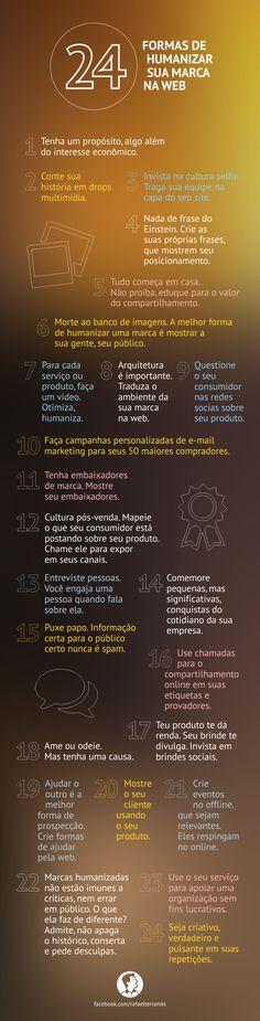 24 formas de humanizar marcas na web