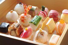 豆寅 祇園の豆すし(sushi) 舞妓さんもご贔屓のお店です