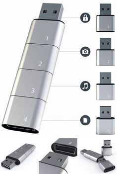 I found 'Compartmentalized Memory: Stackable Series of USB Sticks' on Wish, check it out!