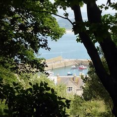 Uploading the camera photos from my holiday - This is the view from the path up to St Michael's