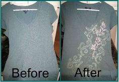 Refashioning - How to add fabulous design to your clothing