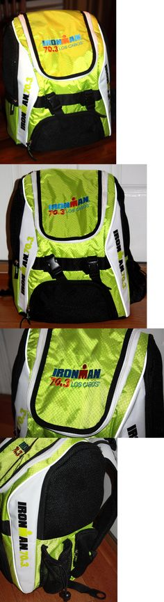 Triathlon 2918: Ironman 70.3 Los Cabos Mexico 2016 Water Resistant Transition Backpack Tri New BUY IT NOW ONLY: $66.99