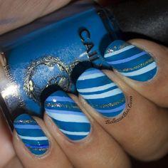Bellezza Bee #nail #nails #nailart  | See more at http://www.nailsss.com/colorful-nail-designs/3/
