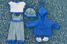 Målfrid's all-new design for doll clothes knitting pattern