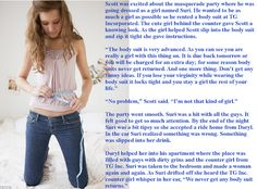 Krazy Kay's TG Captions and Swaps: Body Suit Return Policy