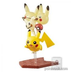 Pokemon Center 2017 Pikachu Parade Series Pikachu Mimikyu Figure (Version #10)