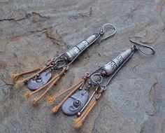 Soluk  Tribal Inspired Earrings by NomadzEmporium on Etsy, £29.00