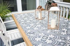 DIY Tile Tabletop: Using Merola Tiles Let's first talk about the dreamy black and white Merola tiles. Who else has been oohing-ahhing at these for the last year or so? This post contains affiliate links that I make a small commission from, with no added cost to your purchase. They are such a trend in... Read more