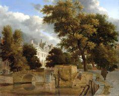 ヤン・ファン・デル・ヘイデン (Jan van der Heyden)「Adriaen van de Velde」アムステルダム国立美術館