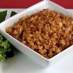 Apple-Pecan Haroset Recipe dairy free, gluten free, vegan, vegetarian, passover with 6 ingredients