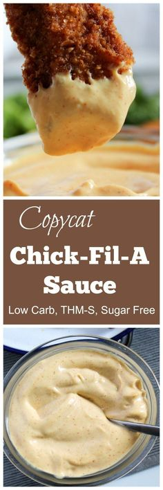 Copycat Chick-Fil-A Sauce (THM-S, Low Carb, Sugar Free). My friends, it is healthy! Chick-fil-A sauce for the win! Ketogenic Recipes, Low Carb Recipes, Cooking Recipes, Healthy Recipes, Radish Recipes, Pescatarian Recipes, Snacks Recipes, Ketogenic Diet, Healthy Snacks