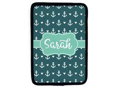 New to TheMonogramLine on Etsy: personalized iPad mini sleeve : design your own (25.00 USD)